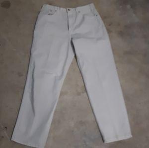 Vintage Levi's 550 tan jeans